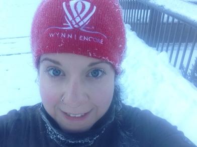5km in- frozen already